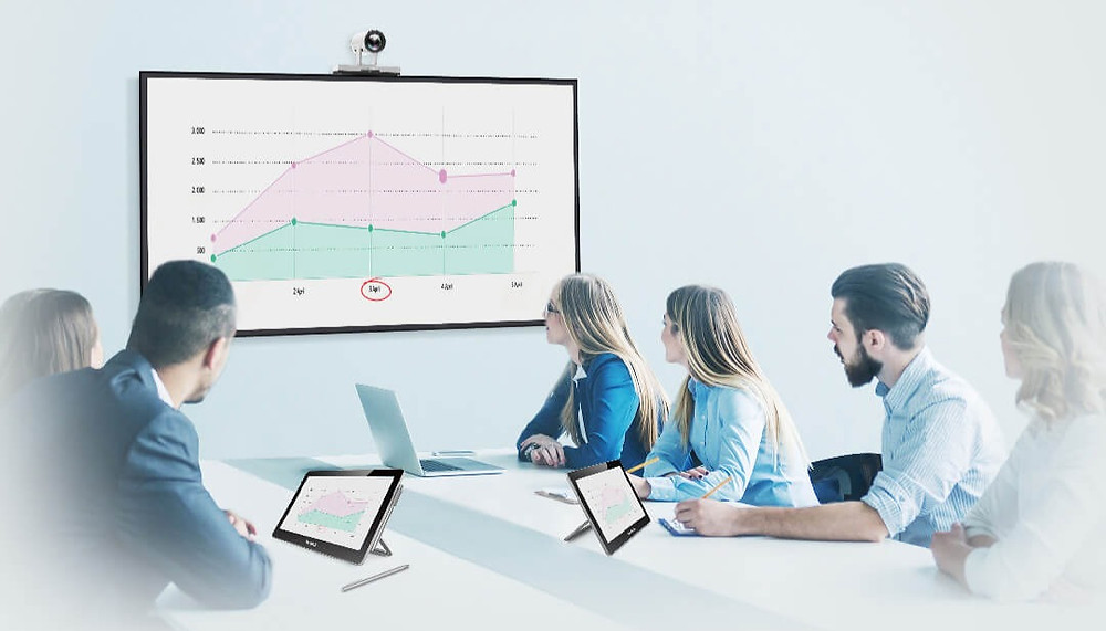 Yealink Collaboration Touch Panel CTP20: A collaborative meeting experience at your fingertips.