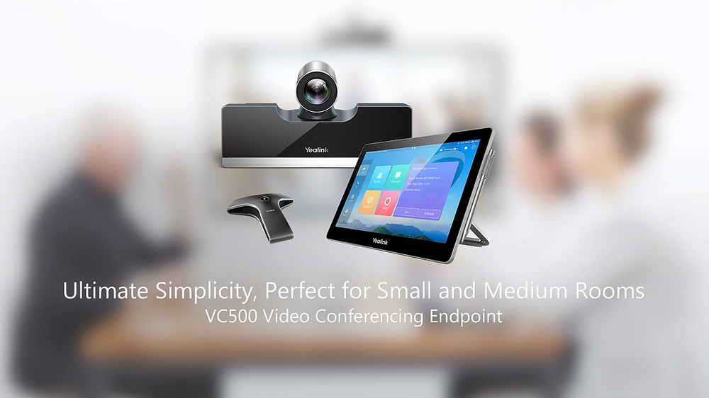 Yealink VC500 Video Conferencing EndPoint: Ultimate Simplicity, Perfect for Small and Medium Rooms