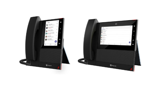 Joining the family of Polycom native devices for Microsoft Teams is a new line of Microsoft Teams Business Media Phones. The Polycom CCX 400, 500 & 700 are packed with the features that businesses relish: Polycom HD Voice, Bluetooth and WIFI capabilities, and colour touch.
