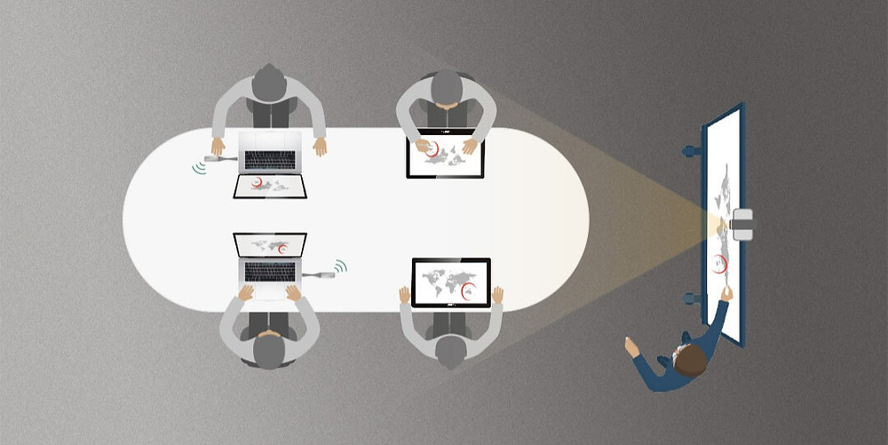 Yealink Collaboration Touch Panel CTP20: Robust collaboration functionalities make the meetings simple and efficient.