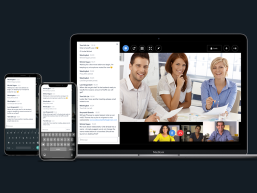 MeetMe powered by Videxio: Finally Introducing In-Meeting Chat