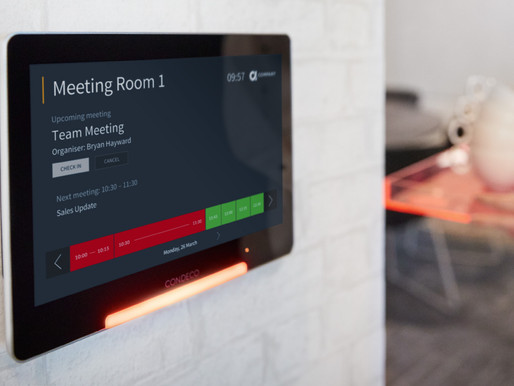 Condeco Meeting Room Screens: The Perfect Addition to a Smarter Workspace