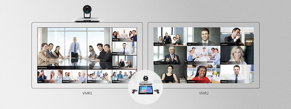 Yealink VC800 Video Conferencing System: Satisfy Multipoint Conference Needs Thanks to the Powerful MCU