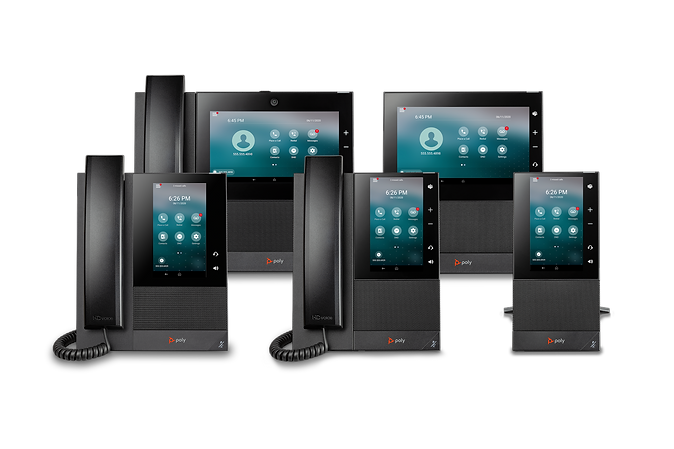 Poly CCX Business Media Phones