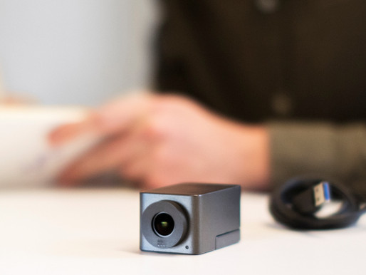 The era of the webcam is over. Meet the Collaboration Camera, Huddly Go!