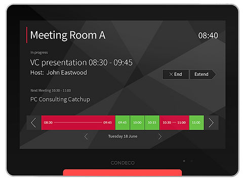 Condeco Software Meeting Room Booking