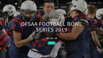 Catch 7 OFSAA Bowl Games Streamed on Yare Media