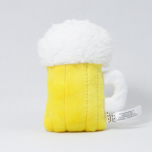 Frosty Beer Mug Cat Toy - Certified Organic Catnip & Silvervine