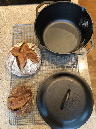 sourdoughs and oven