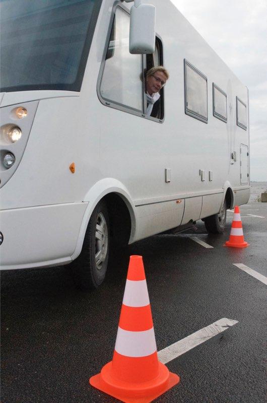 Recht achteruit rijden