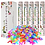 Thumbnail: Mixed Colors Butterfly Biodegradable confetti cannons