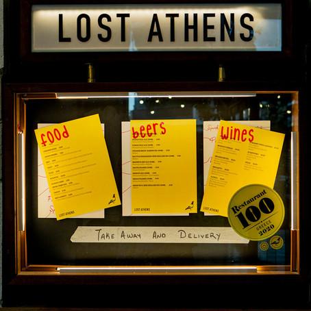 LIFO / To Lost Athens και το πολυσυζητημένο μενού του έρχονται στο σπίτι σας