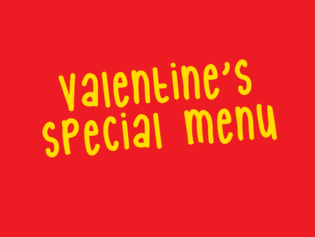 NEWS / Valentine's Special Menu