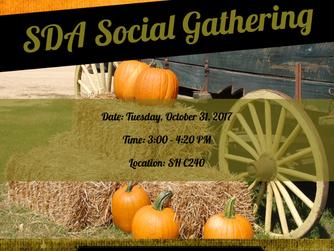 Meeting Reminder: Halloween Social Party
