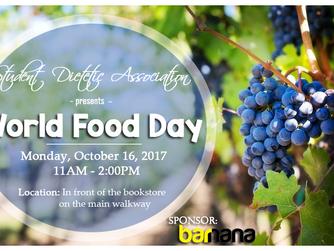 Reminder: World Food Day