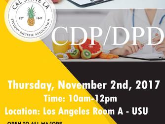 Reminder: CDP/DPD Panel