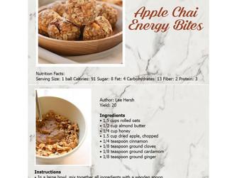 Wellness Fair Recipes