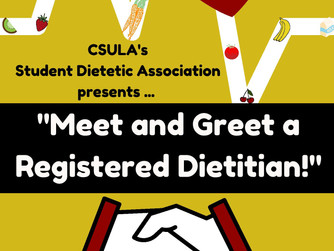 Meet and Greet a Registered Dietitian
