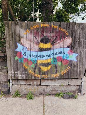 In Between We Garden, Salem MA 2020