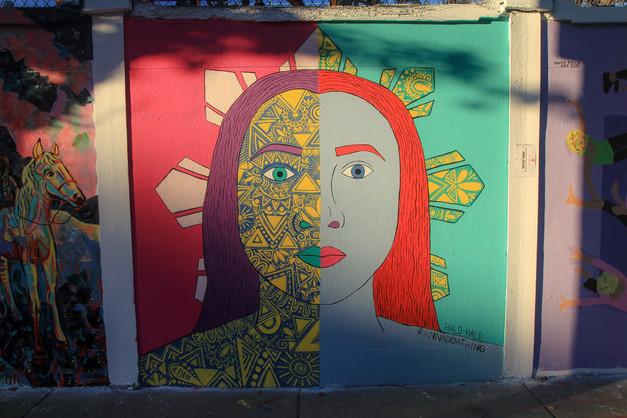 Halo-Halo  El Punto Urban Art Museum Salem, MA 2019