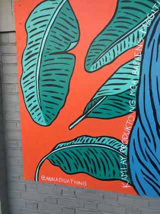 Brave Womxn Detail at Salem Arts Festival Mural Slam 2019