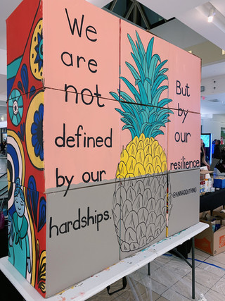 Pineapple Ashes Mural 2020