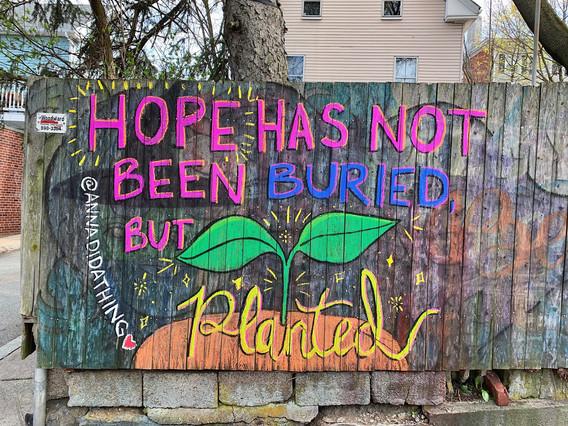Hope Fence Mural 2020
