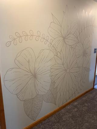 Wildflowers Mural 2020