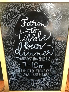 Farm to Table 2018