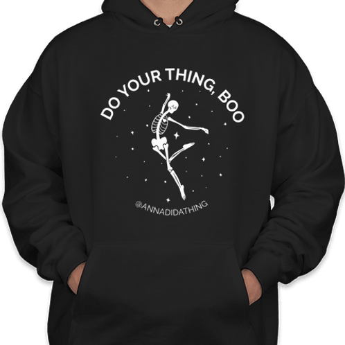 Do Your Thing Boo Hoodie - Skeleton
