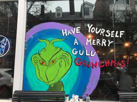 Gulu Grinchmas at Gulu Gulu Cafe Salem, MA 2018