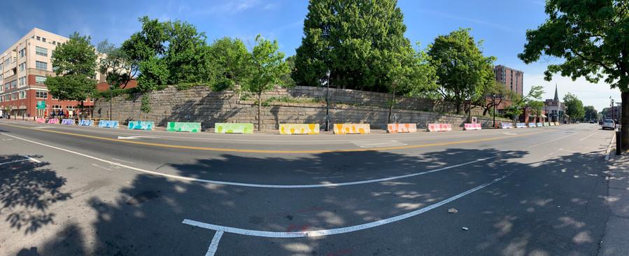 Community Vibes - Jersey Barrier Mural Salem, MA 2020