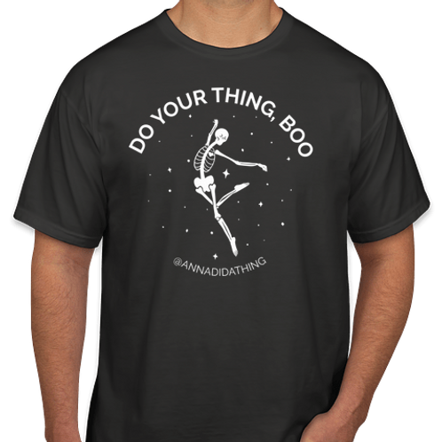 Do Your Thing, Boo - Skeleton Tshirt (YOUTH)