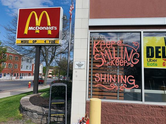 Keep Smiling Keep Shining - McDonald's Peabody, MA 2020