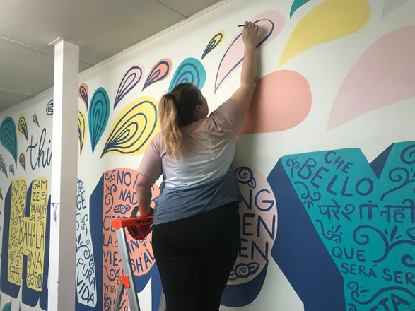 Think Happy Thoughts at Creative Clubhouse Salem, MA 2019