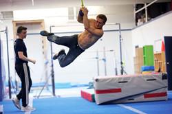 Justin Conway Ninja Warrior Three Ball Lache