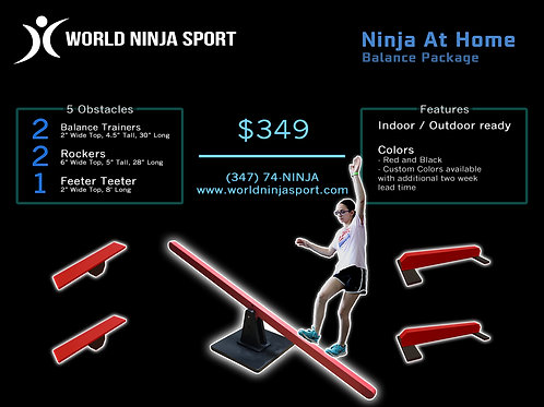 Ninja at Home Balance Package
