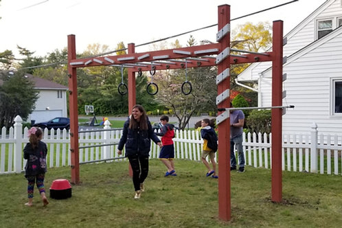 Backyard Ninja Course - WNS Babylon Rig