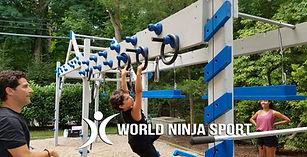 World Ninja Sport Backyard Ninja Course
