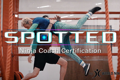 SPOTTED - Ninja Coach Certification