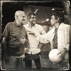 Evaristo, Rildo e Amarildo