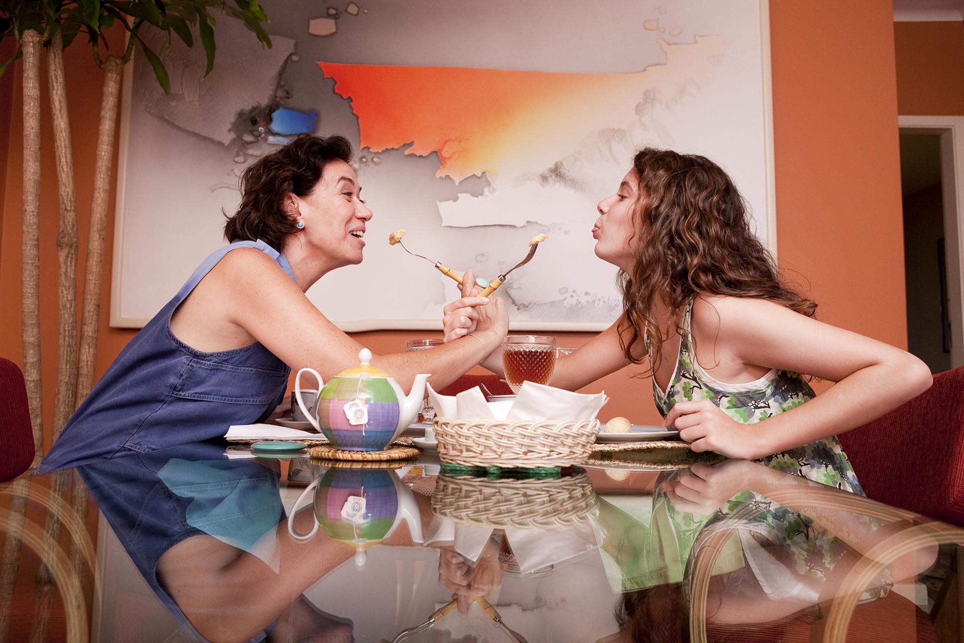 Lília Cabral e Giulia