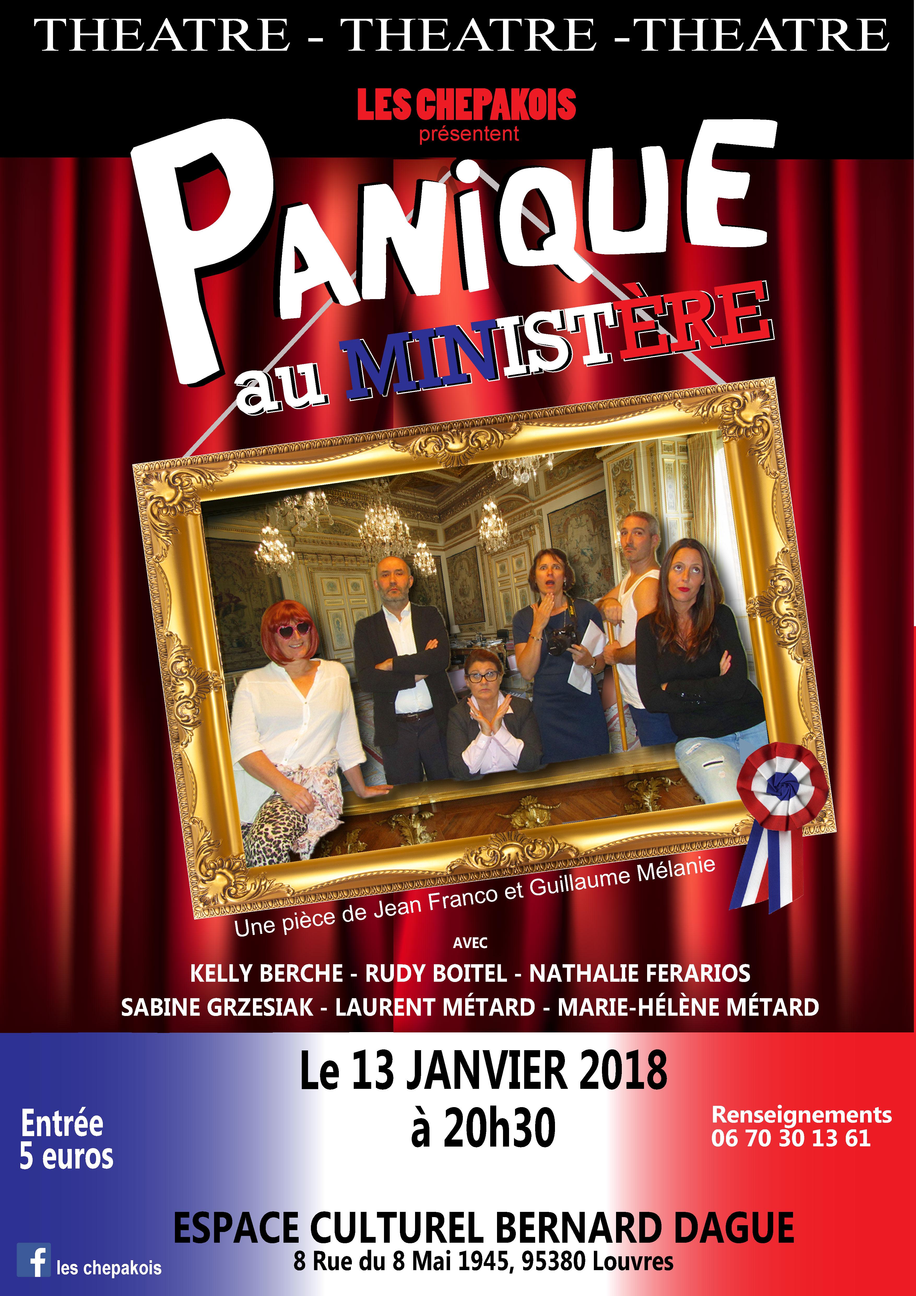AFFICHE PANIQUE AU MINISTERE louvres-02