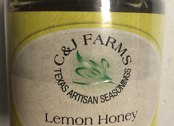 Lemon & Vanilla Bean Honey