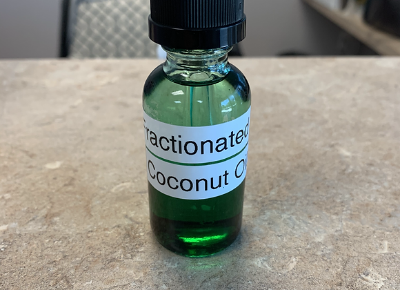 Fractioned Coconut Oil  1oz