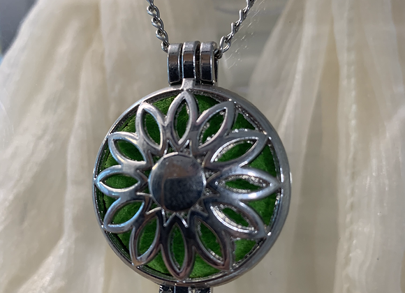 Flower Diffuser Necklace