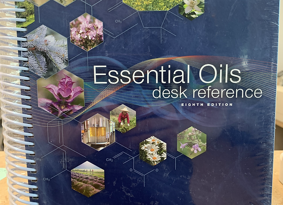 8th Edition Essential Oil Desk Reference