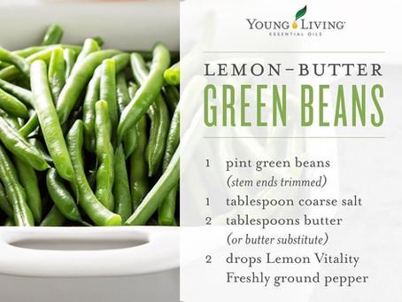 Lemon-Butter Green Beans -YUM!