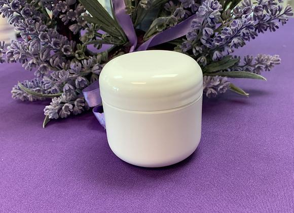 White 2 oz Plastic Container