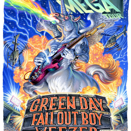Fall Out Boy, Green Day, and Weezer Reschedule 2021 Hella Mega Tour